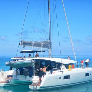 segeln Seychellen mit SkippyTirol auf KAT Lagoon 42