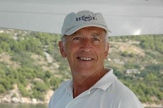 Skipperkollege Peter aus der Schweiz, auch sehr beliebt bei unseren Segelgaesten