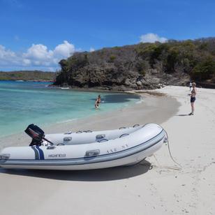 in den Tobago Cays verbringen wir meistens 2 Tage, es ist einfach sooo schoen