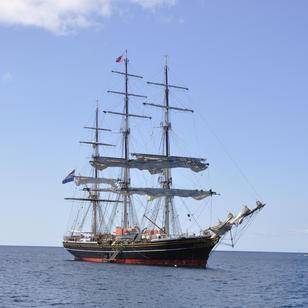 viele tolle yachten kann man in der Karibik im Einsatz sehen