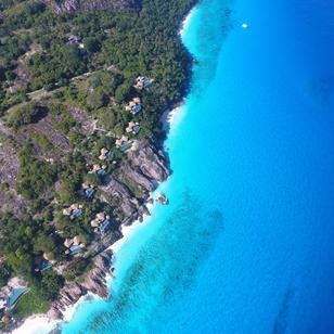 Seychellen, Trauminseln, unser Ankerplat