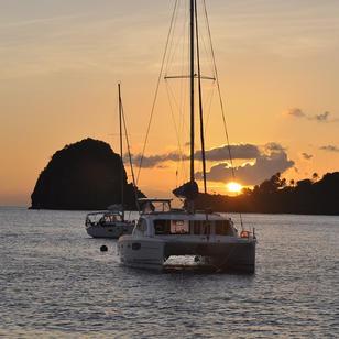 wenn bei St. Vincent die Sonne im Meer versinkt, sind die Pirates of Caribbian nicht weit entfernt