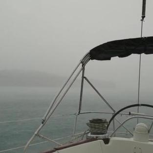 Gewitterfront zieht durch