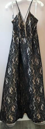 Size 4 Black & Nude