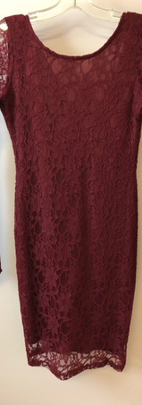 Size S Wine Lace