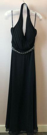 Size 14 Black with Rhinestone Belt