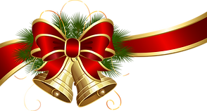 Transparent_Christmas_Bells_with_Red_Bow