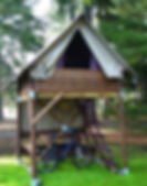 cabane à louer à chavaniac lafayette sur le chemin de Cotte de maille et robe de bure