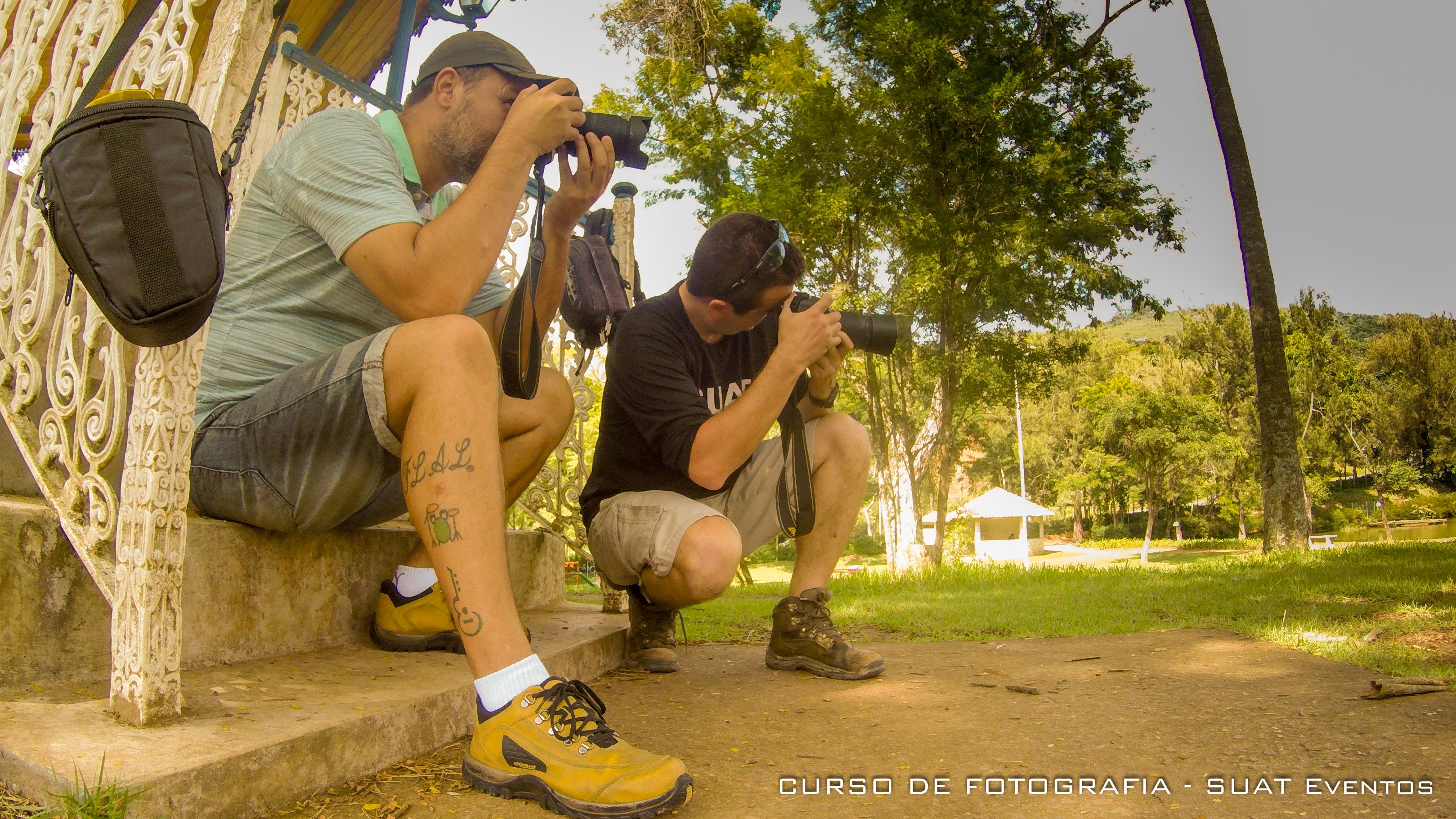 CURSO DE FOTO - Aula foto externa