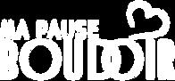 Logo Title Ma Pause Boudoir Blanc very small fond Noir.png