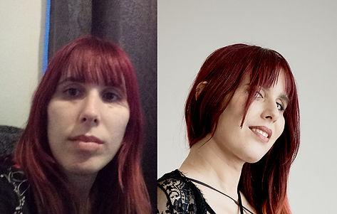 Photo boudoir d'une femme rousse avant et après relooking par ma pause boudoir