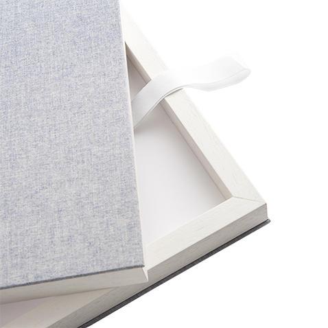 Album Photo blanc réalisé par ma pause boudoir