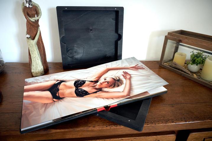 Album Photo avec blonde réalisé par ma pause boudoir