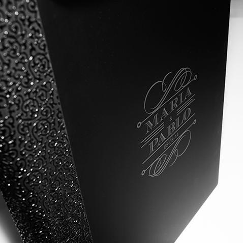 Album Photo bordure gauffrée réalisée par ma pause boudoir