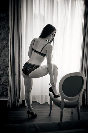 Photo Boudoir noir et blanc
