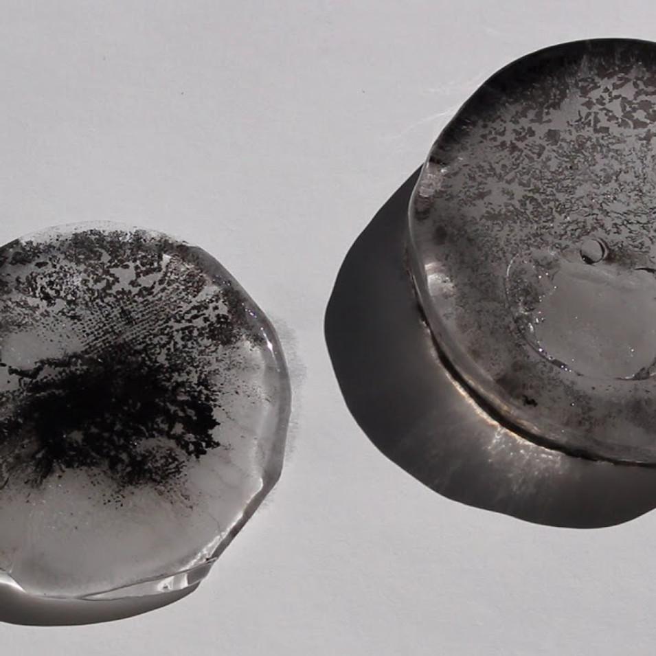 Melting ice print