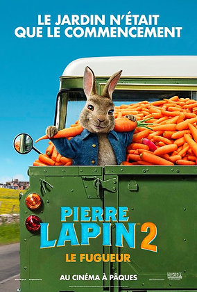 PIERRE LAPIN 2: LE FUGUEUR (Peter Rabbit 2: The Runaway)