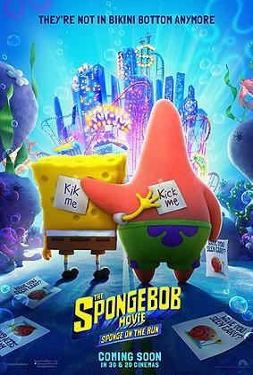 BOB L'ÉPONGE LE FILM : ÉPONGE EN FUITE (Sponge on the Run)