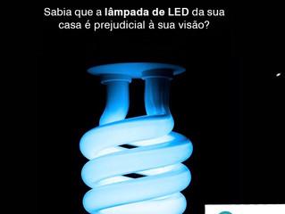 Saiba porque a lâmpada de LED pode causar problemas ao seus olhos