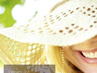 Viseiras  e bonés filtram até 50% da radiação UV