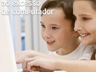 30% das cefaléias na infância estão relacionadas ao excesso de computador