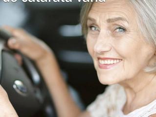 Após a cirurgia da catarata... quando pôde-se voltar a dirigir?