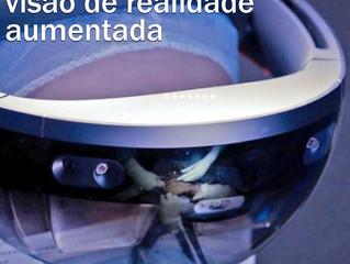 Cirurgia Oftalmológica com visão de  realidade aumentada