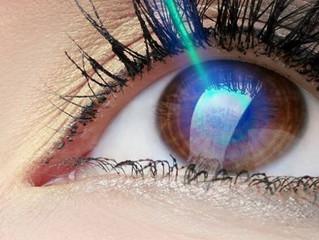Lentes de contato ou cirurgia refrativa?