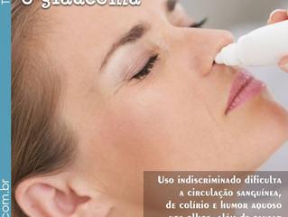 Cuidados com a saúde ocular , quando utilizar descongestionantes nasais