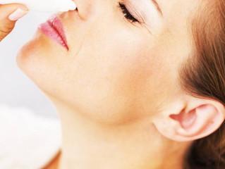 Descongestionante nasal pode piorar o glaucoma
