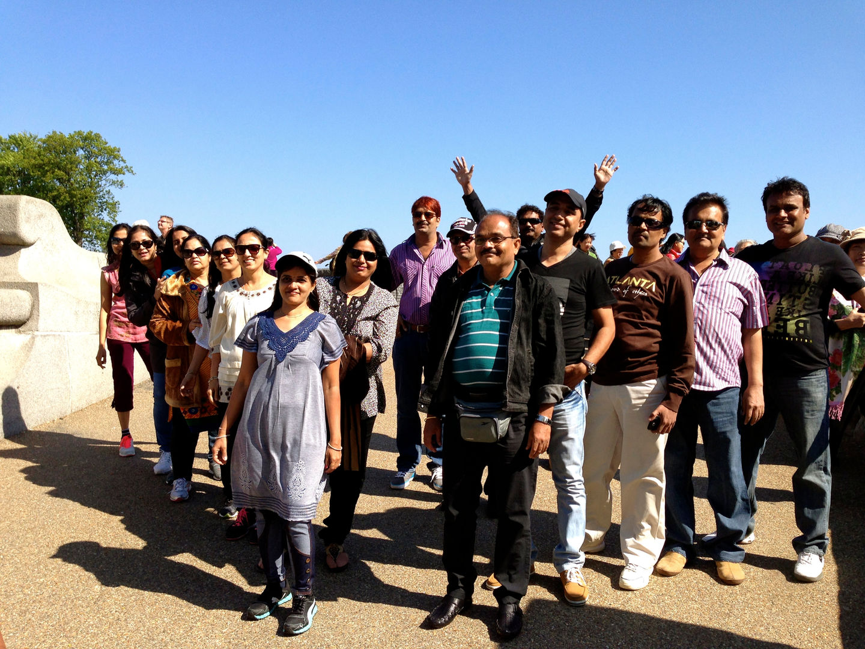 Group from Cox & King's India enjoying Copenhagen