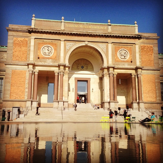 Instagram - #smk #copenhagen #københavn #art #entrance #kunst #reflection #vands