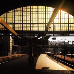 Instagram - I'm #alone in the #world #copenhagen #central #station #perron #trac