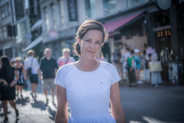 Forfatter og historiker Kathrine G. Bjerregaard