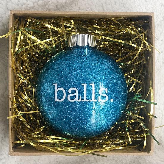 BALLS Chritsmas Ornament