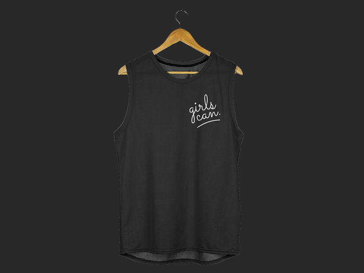 GIRLS CAN MUSCLE TANK