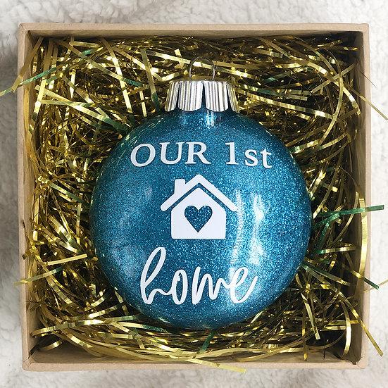 OUR 1ST HOME Chritsmas Ornament