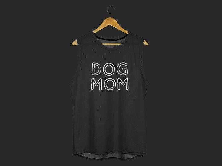 DOG MOM MUSCLE TANK