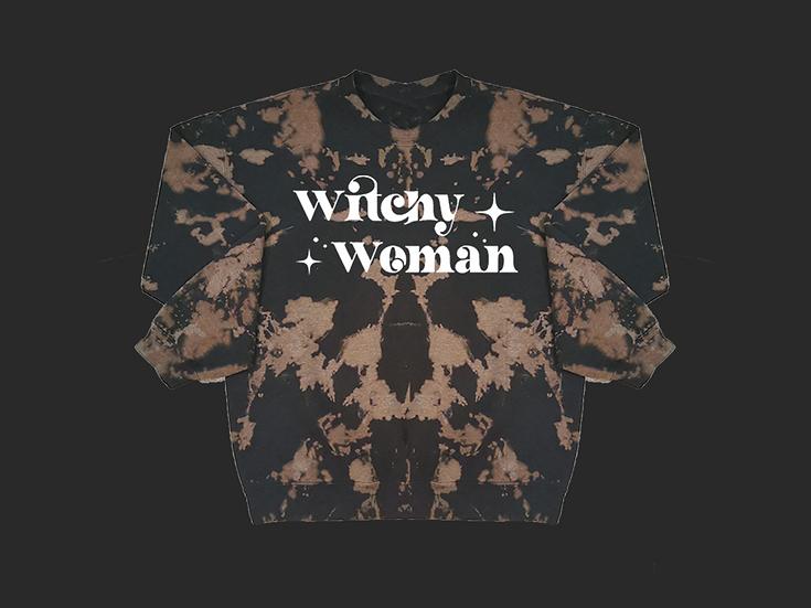WITCHY WOMAN CREWNECK