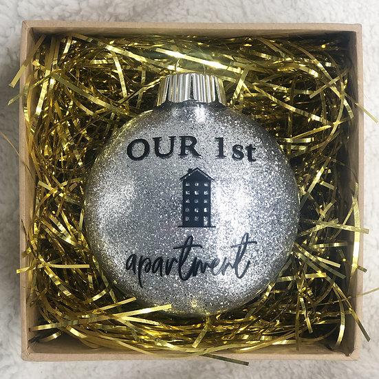 OUR 1ST APARTMENT Chritsmas Ornament