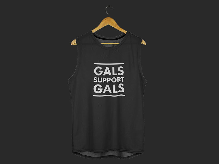 GALS SUPPORT GALS MUSCLE TANK