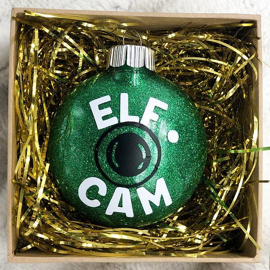 ELF CAM Chritsmas Ornament