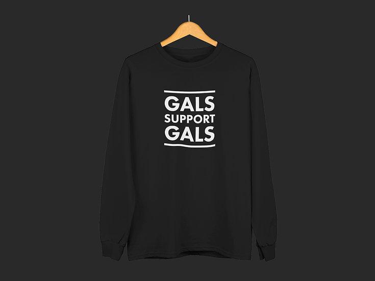 GALS SUPPORT GALS CREWNECK