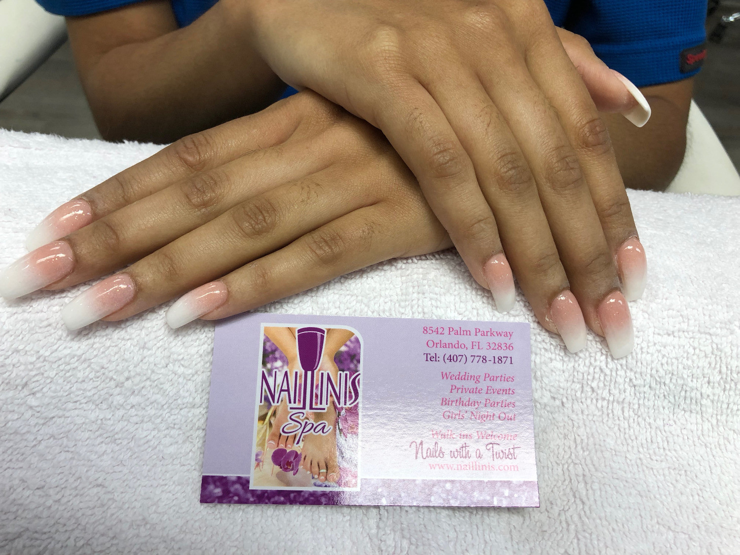 Naillinis - Luxury Nail and Spa in Disney Spring, Orlando FL