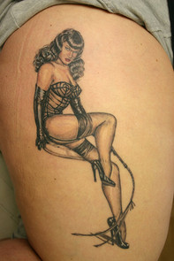 Betty Page Pinup