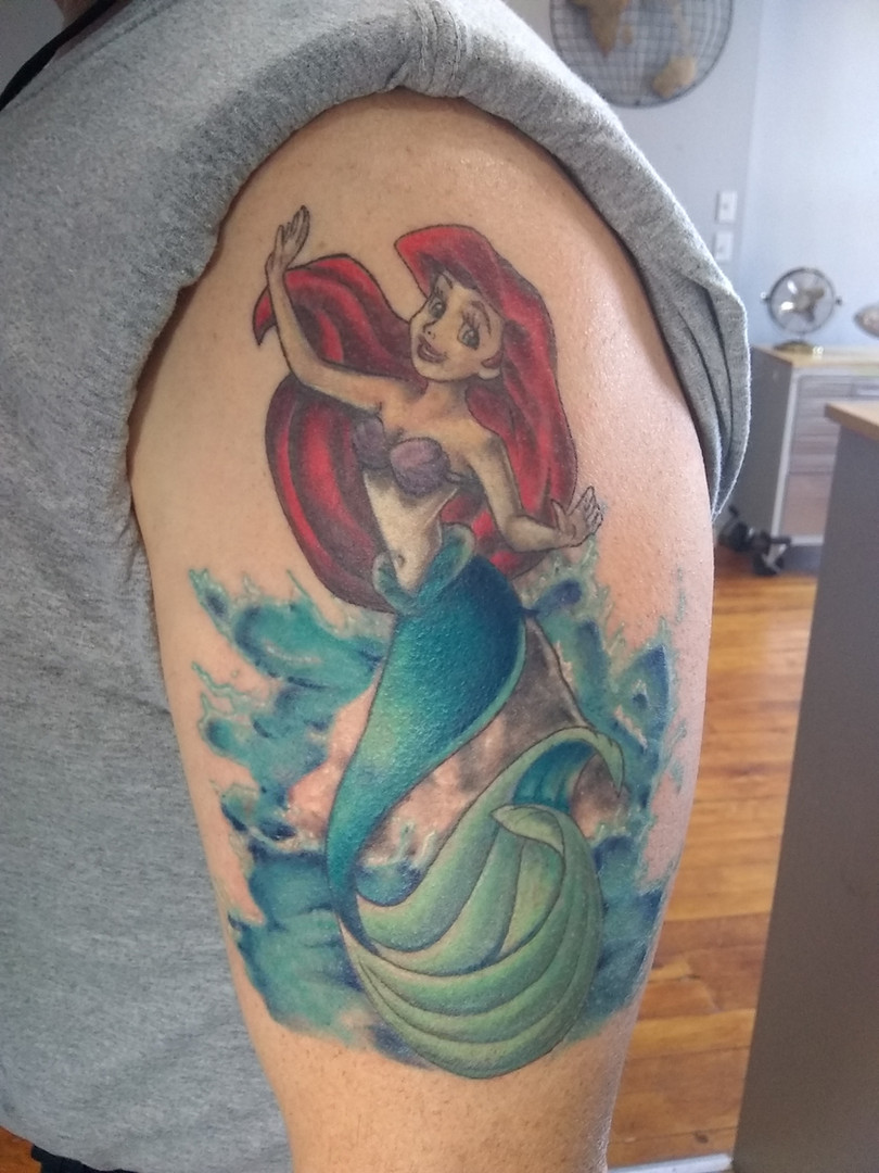 Ariel  Cover up