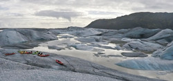 Kayak al glaciar Heinabergslón