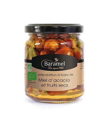 Miel d'Acacia et Fruits Secs