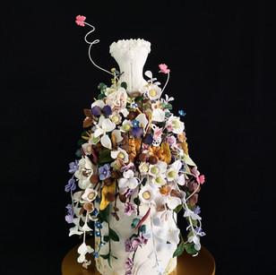 Enchanted Dress Cake