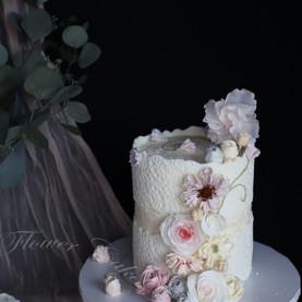 Shimmer Lace Cake